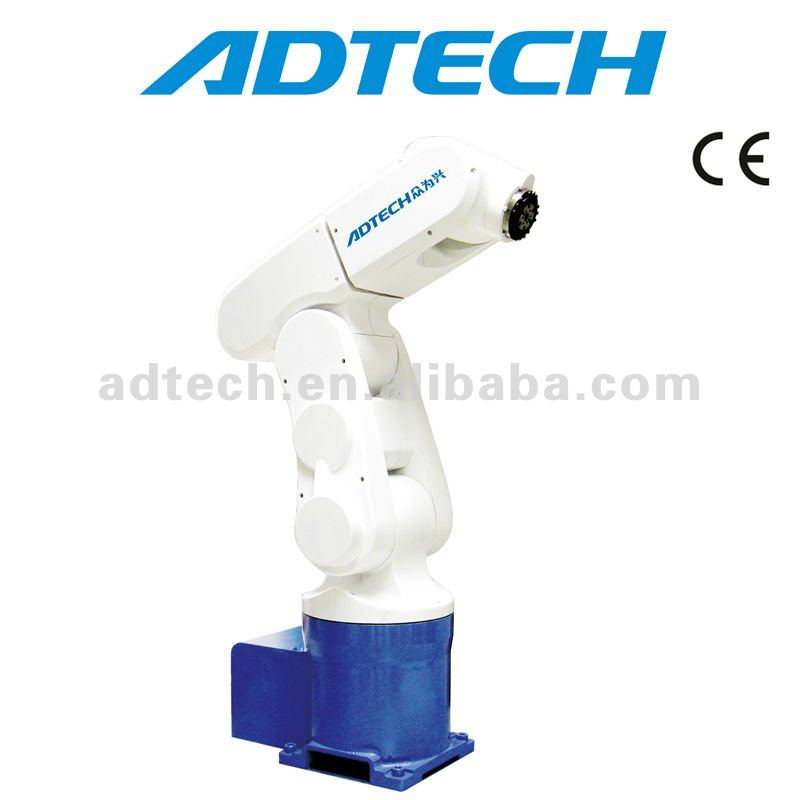ADTECH 6-axis DOF industrial Robot with cnc system
