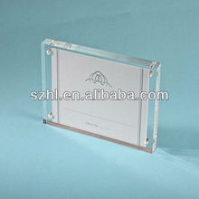 A7 acrylic magnet photo/picture holder stand display