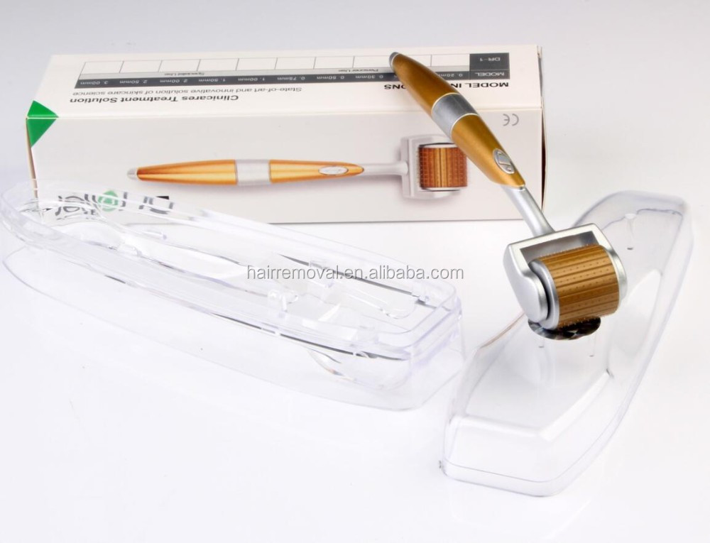 Medical grade 192 needles titanium micro needle roller system Dr. roller
