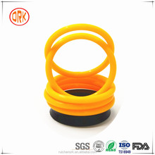 Yellow Heat Resistant Soft Silicone O-Rings