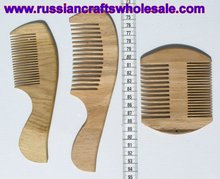 Russian Wooden Hair Brush Haircare, Russian Folk Art and Crafts Wholesale