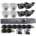 2017 HOT!!! 8ch HD Dvr System kits,8ch cctv camera system,ready to use home security product