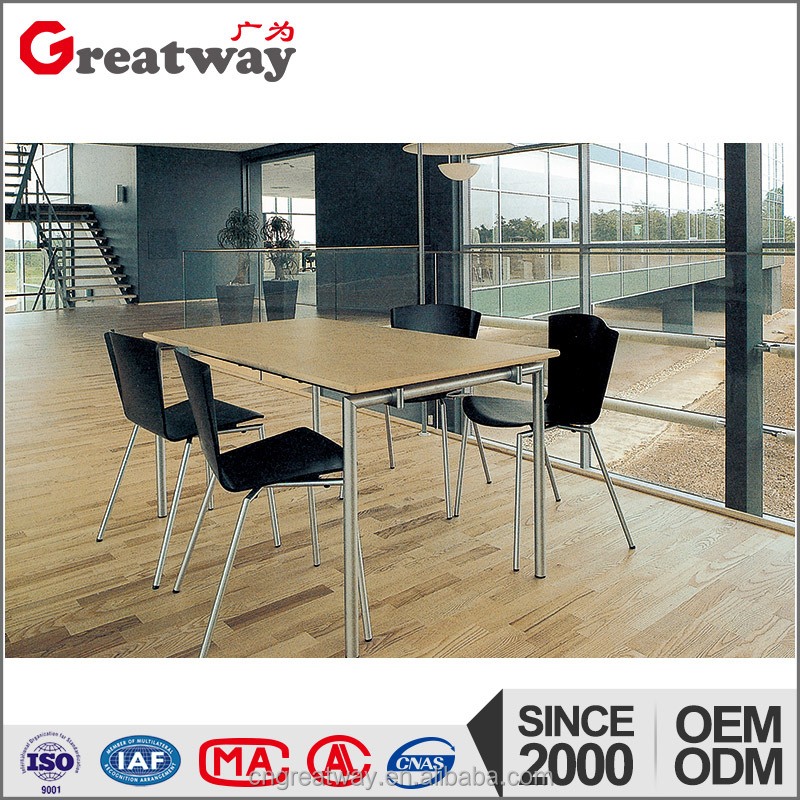Fashion office furniture design sectional meeting table with low price