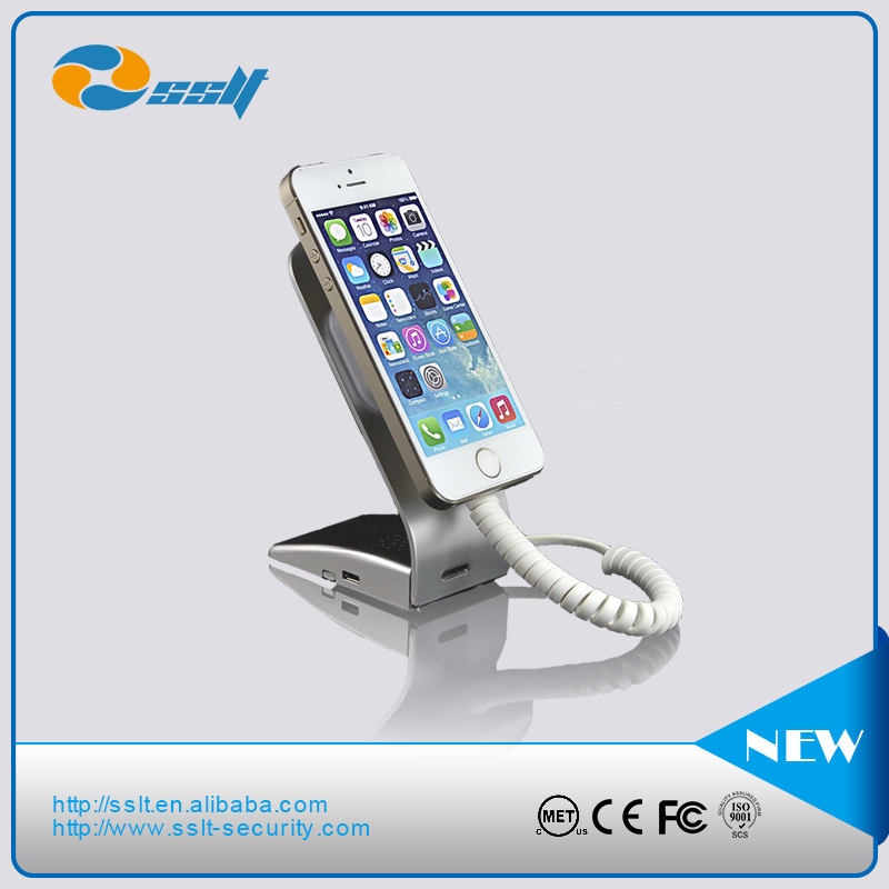 mobile phone charging holder/anti-theft security display