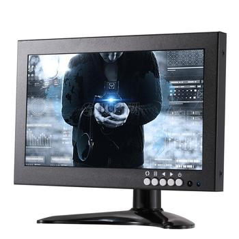 New arrival 720p 8 inch wide screen dvi bnc tft cctv monitor tester