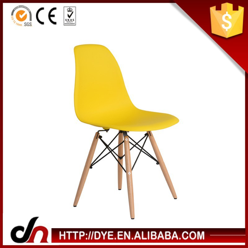 Charles Ray Ames plastic Chairs Replica for bed room furniture