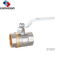 Junxiang 01001 hot sale brass cf8m key lock ball valve
