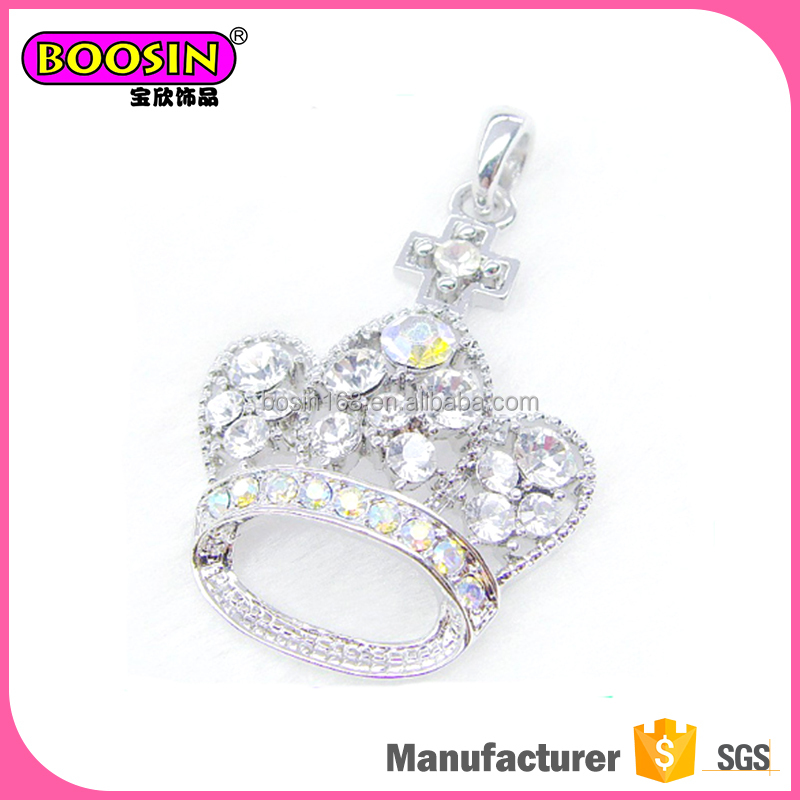 Alibaba pendants crown christmas ornament cute charm
