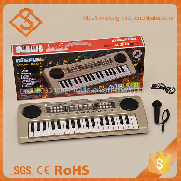 Baby plastic toys electronic piano mini musical keyboard