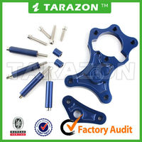 High Performance Blue CNC Produced Sprocket Cover with Fitting Kit for Suzuki Models