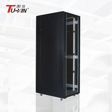 High-efficiency structured 19 inch cold rolled steel material network rack server cabinet