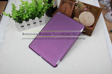 Semi-Transparent Buy Bulk From China Protective Smart Cover Companion Case for iPad air 2 for iPad 6