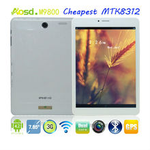 "7.85"" android 4.2 gsm 3g wcdma tablet 5mp camera rear camera module M9800."