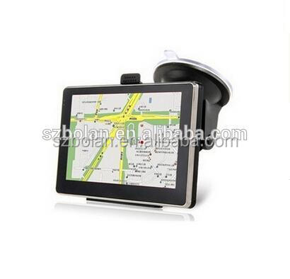 4.3 Inch Touch Screen LCD Car GPS Navigation Wince 6.0 GPRS Navigation System with Bluetooth and AV-IN Options