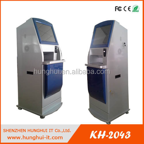 all in one payment cash&bill&coin payment machine/Card Reader Self Payment Kiosk Terminal