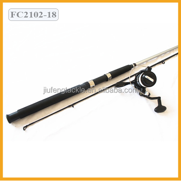 Fiber Glass Fishing Rods and Reel Fishing Set