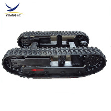 custom mini rubber track excavator undercarriage for construction machinery