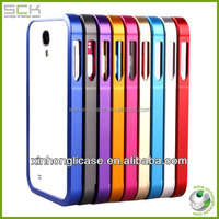 Metal bumper case for Samsung galaxy S4 i9500