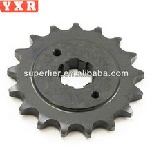 Chongqing motorcycle sprocket for honda wave 125 manufacturer