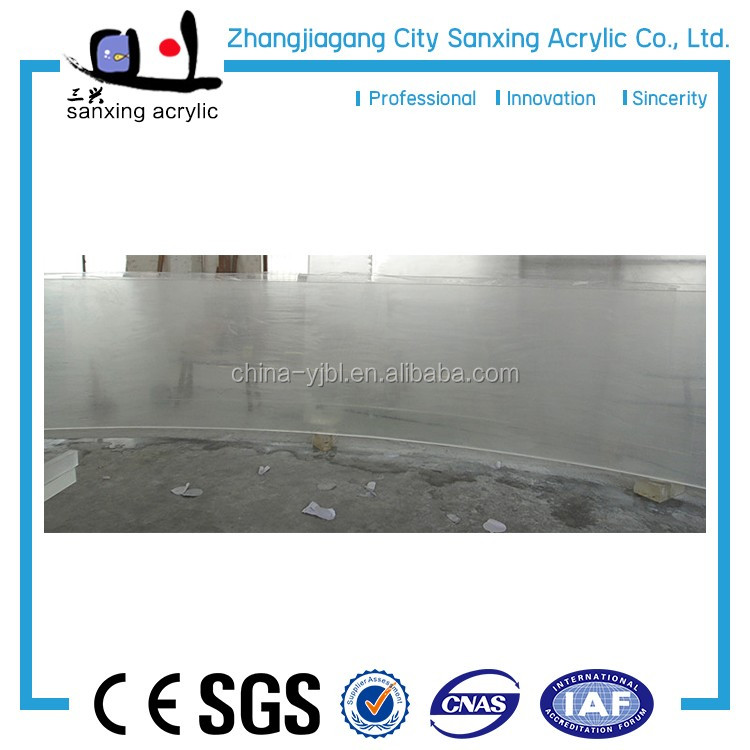 Manufacture High Quality Heat Distortion Temp Clear Acrylic Sheet