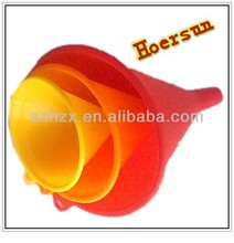 wholesale colored PP food grade plastic funnel