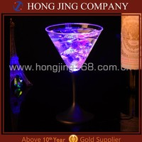 Led Flashing Cup , Led Martini Glass