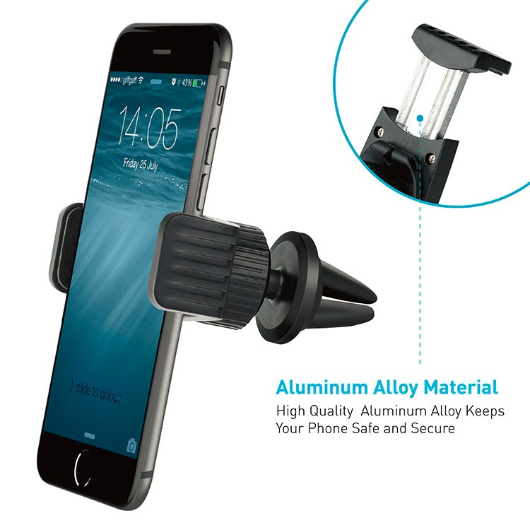 Factory Wholesale universal 360 degree magnetic air vent cell phone car holder
