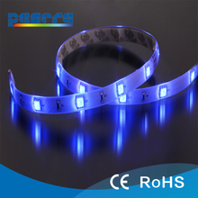 12v waterproof led light 5m 5050 rgb led strip waterproof ningbo factory made