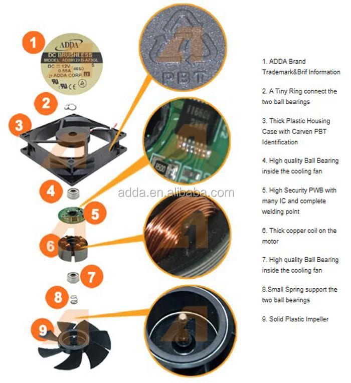 35x35x6mm 12v Dc Fan Exhaust Fan Air Cooler Fan Buy 12v