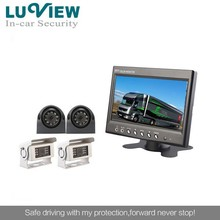 High quality 7inch LCD monitor taxi security camera system