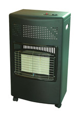 INDOOR GAS ceramic heater with tip-off switch with ODS 4.2KW /14300btu CE