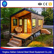 steel Sandwich panel bunk houses portable home 20ft used shipping container for sale