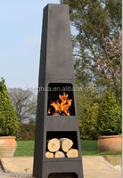 Steel Chimenea Chiminea Patio Heater BBQ Barbeque Firepit