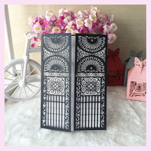 hot sale Invitation card paper crafts happy wedding decoration grace greeting card special and simple design QJ-63