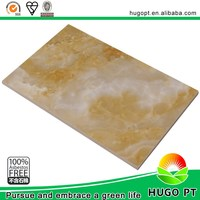 Interior Kitchen Decorative Marble-Look Wall Paneling