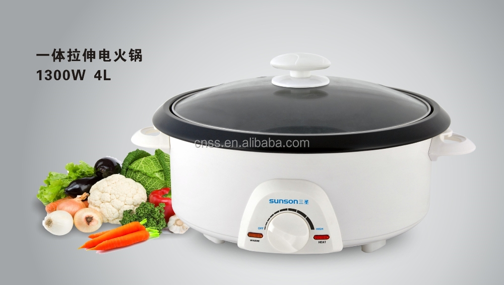 Electric Multi function cooker 4L with hot pot