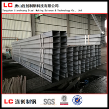 building structure black square steel pipe / rectangular steel pipe