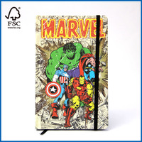 Cartoon Cover Notebook Fashionable Agenda