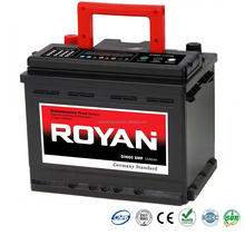 Top Selling 12V DIN 60Ah MF Car Battery 1 Year Warranty 100% Tested 60Ah 72Ah 74Ah 75Ah 80Ah 88Ah 100Ah Batteries