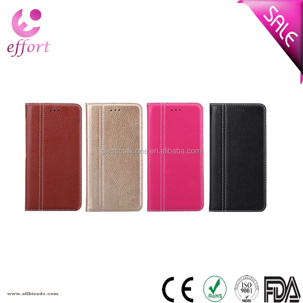 IP003 4.7 5.5 inch TPU+PU cell phone protector case genuine leather case for iphone 7 iphone7S plus
