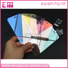 3D Full Cover Screen Film for iPhone 7 Mirror Tempered Glass Screen Protector for iPhone 7 7Plus