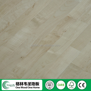 Maple hardwood sports flooring solid wood fingerjoint flooring