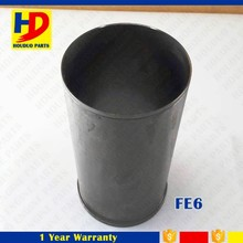 Excavator Diesel Engine Parts FE6 For Nissan Cylinder liner 11012-Z5604