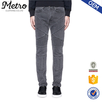 China wholesale cheap hot sales butt lift pencil jeans for men