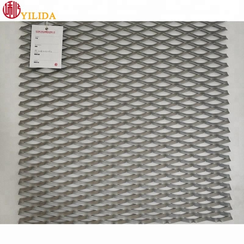 2.0mm thickness aluminum expanded metal mesh