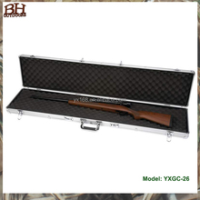 China strong aluminum shot gun gun case with custom foam insert manufacturer