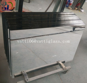 Factory supplier 1mm 1.3mm 1.5mm 1.8mm thick aluminium sheet glass mirror price per square meter
