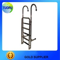 HOT SALE stainless steel 316 boat boarding ladder