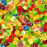 Vegetables fruit table cloth/pvc table cloth/pvc table cover