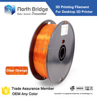 Kexcelled high quality 3d printer drawing filament abs pla plastic 1.75mm